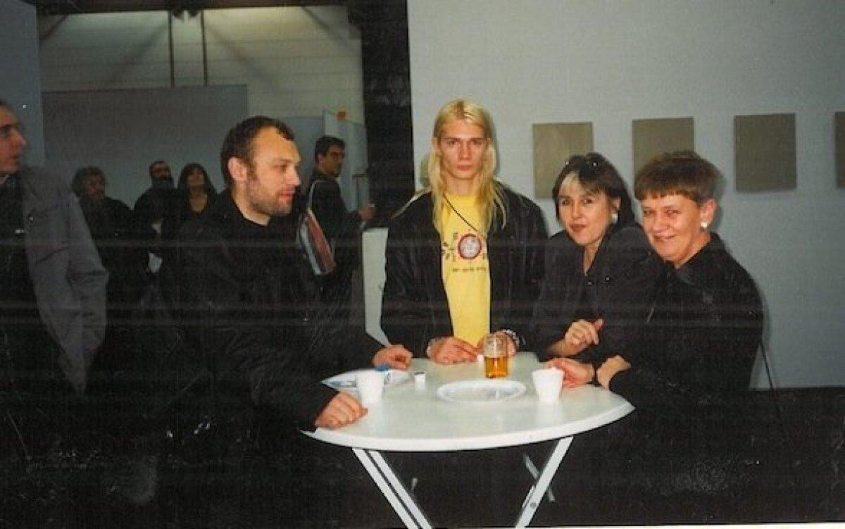 2001: Jaan Toomik, Kiwa, Sirje Helme ja Ebe Nõmberg Düsseldorfis.