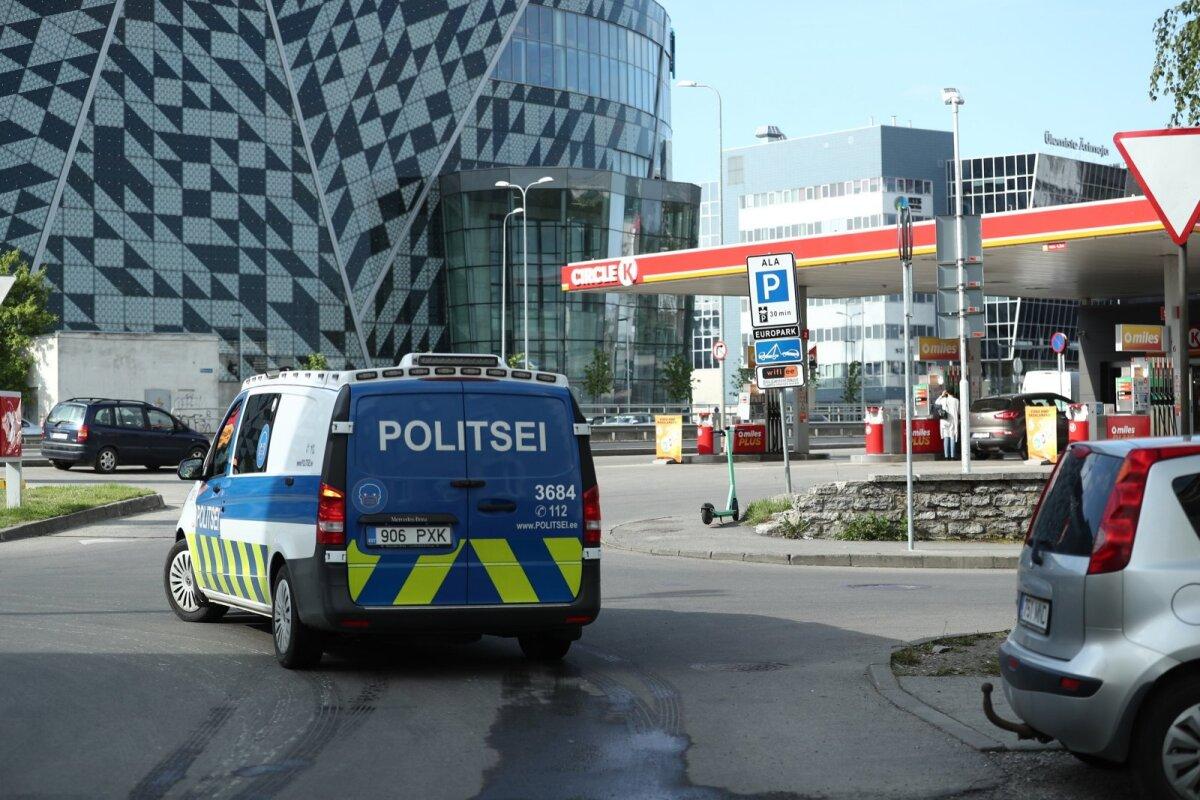 Täna hommikul võis näha sündmuskohal toimetamas politseipatrulli