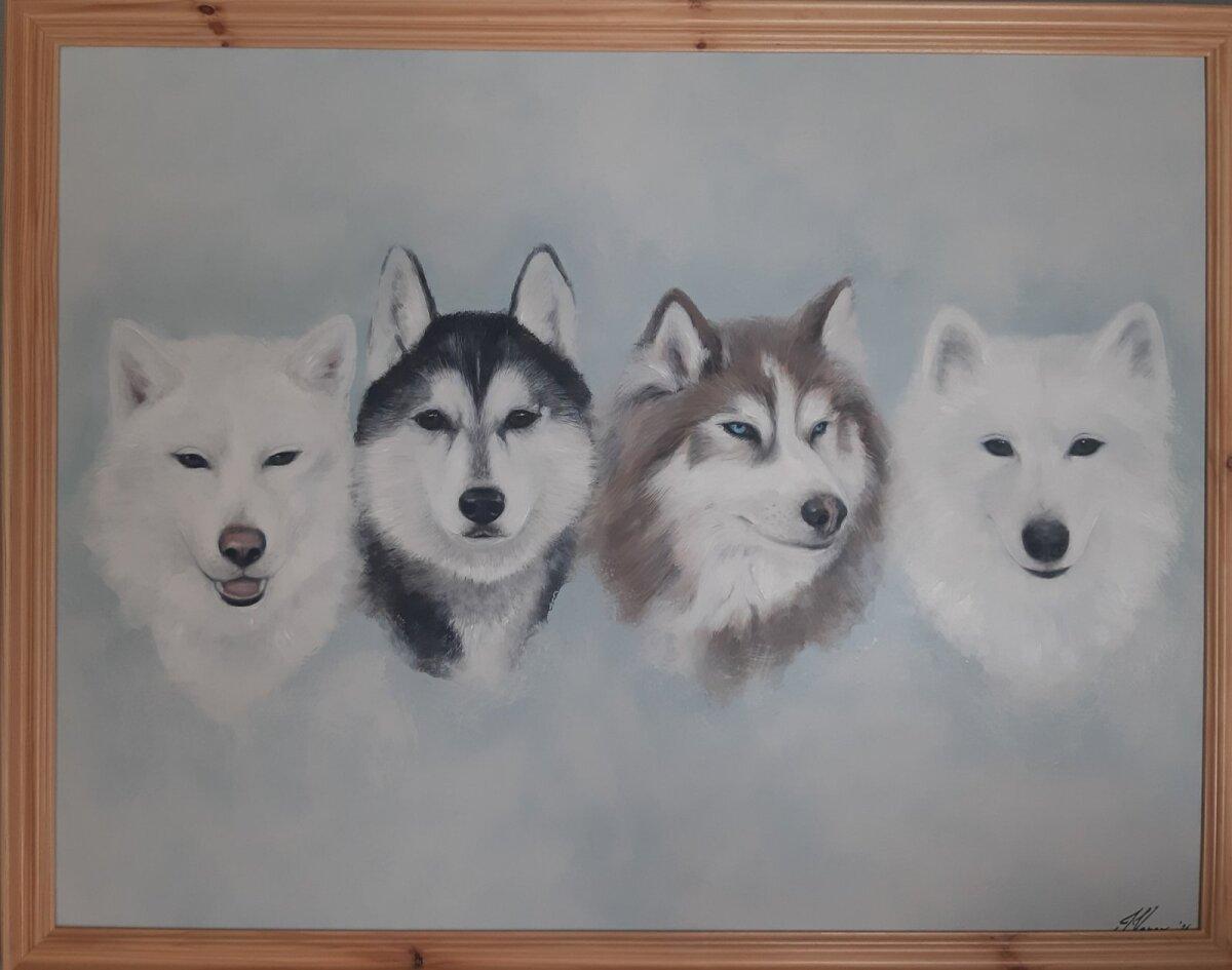 Virve lemmikud maalil