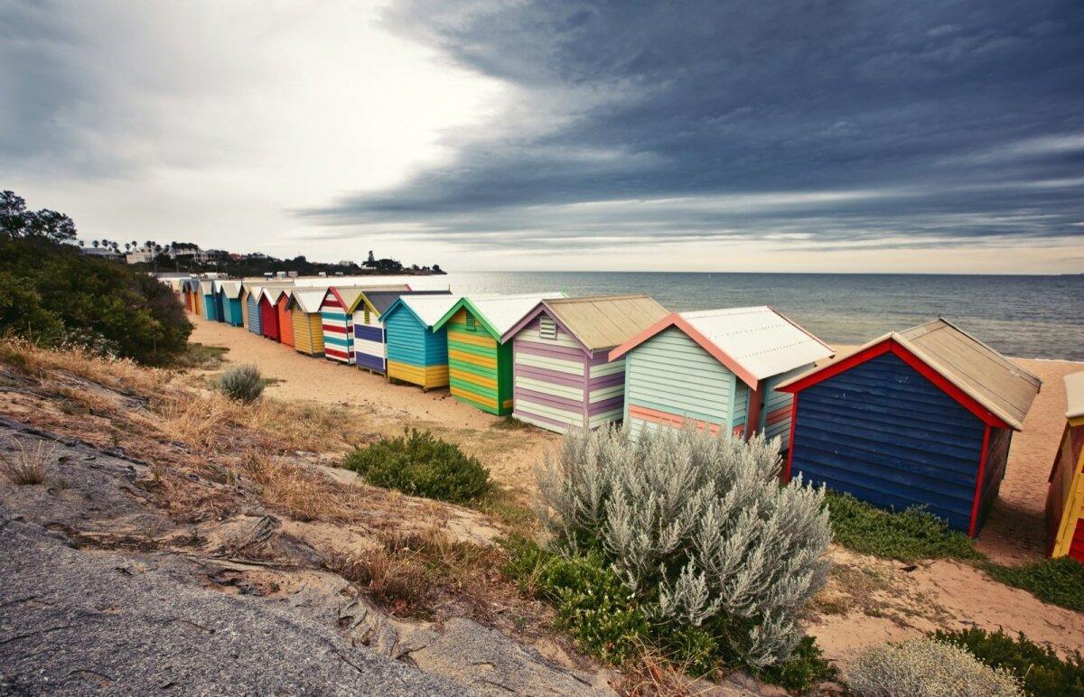 Brighton Beach, Melbourne, Austraalia