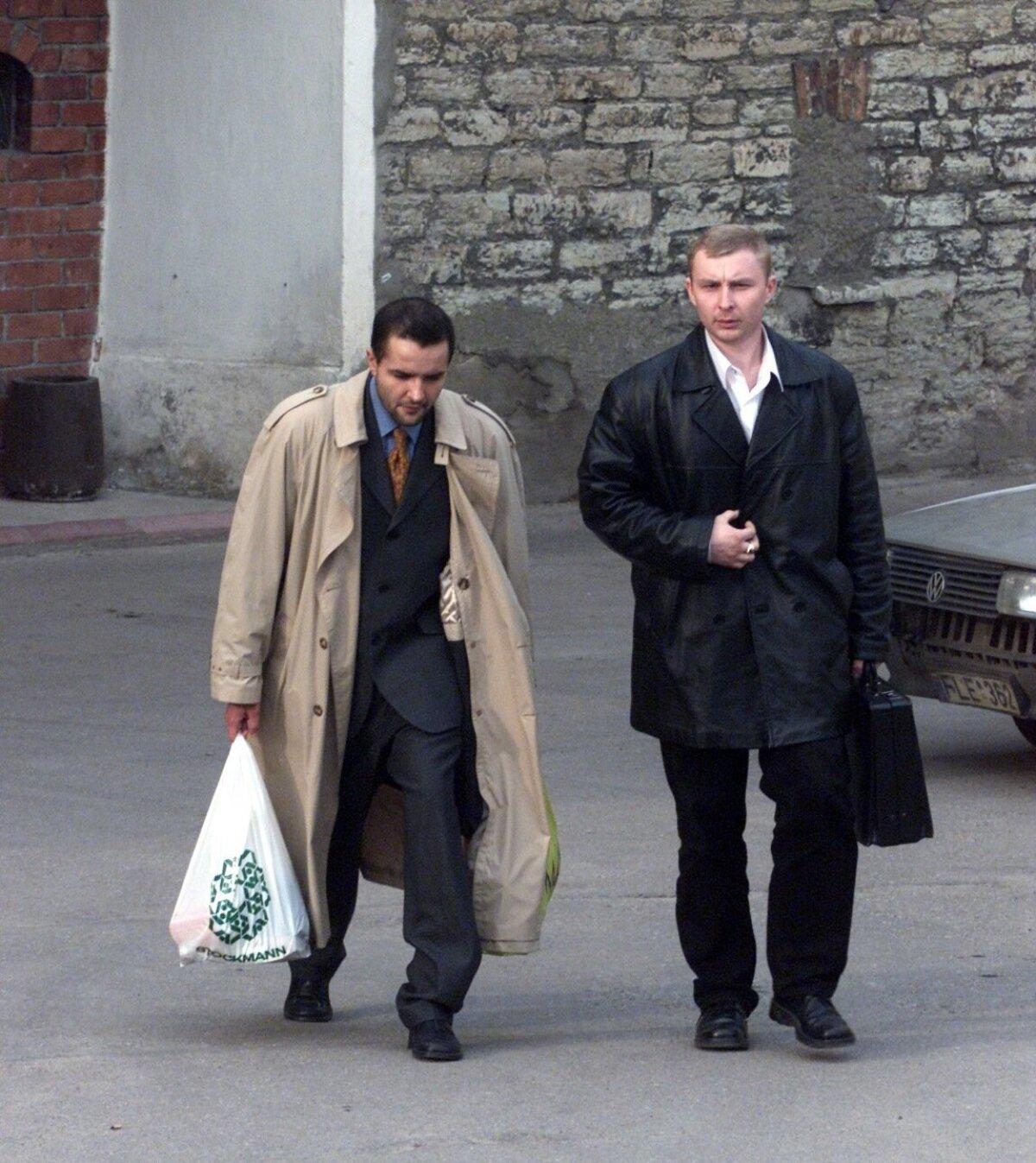 Джованни Спозато и Владимир Садеков в 2000х