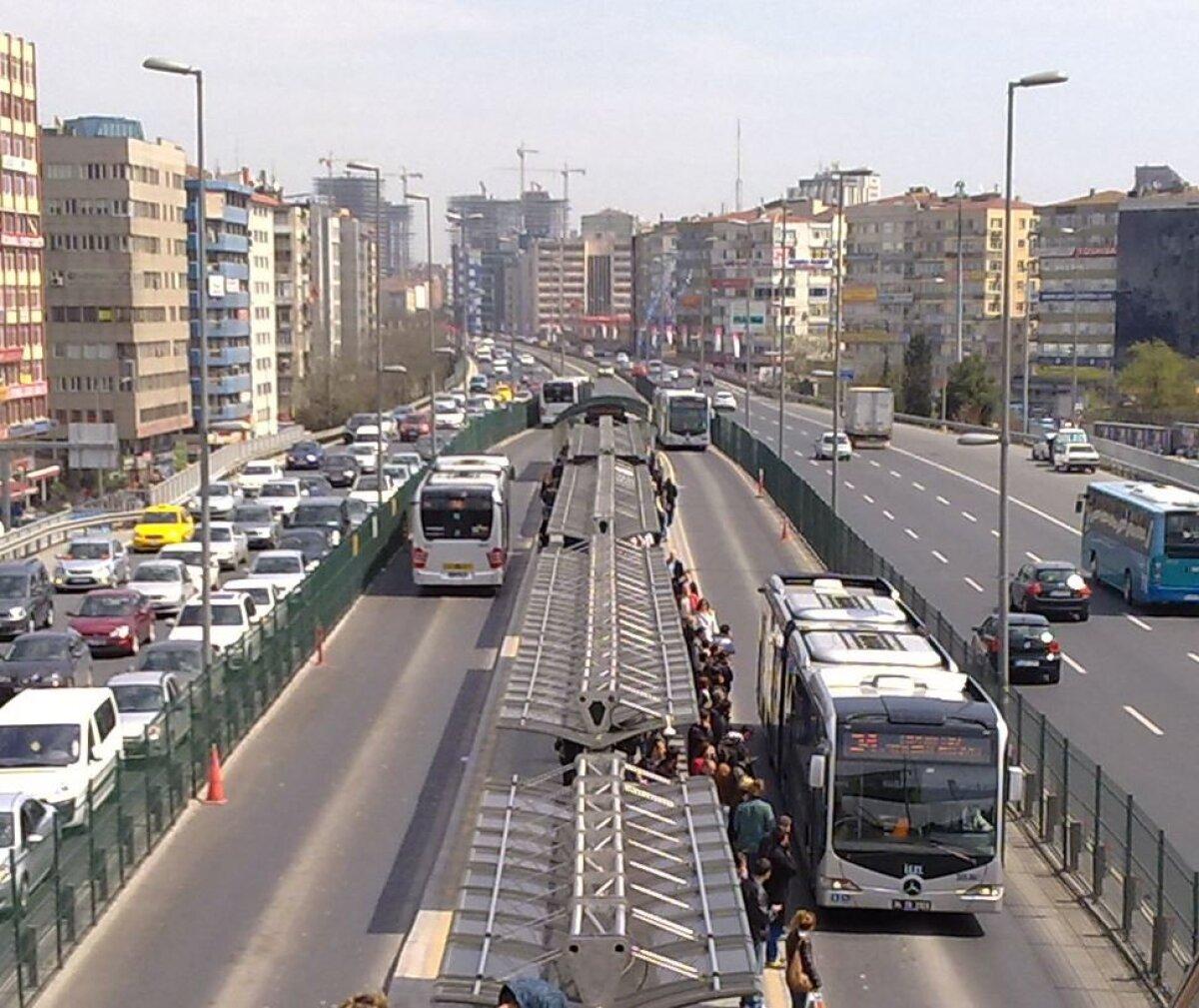 Nn metroobuss Istanbulis