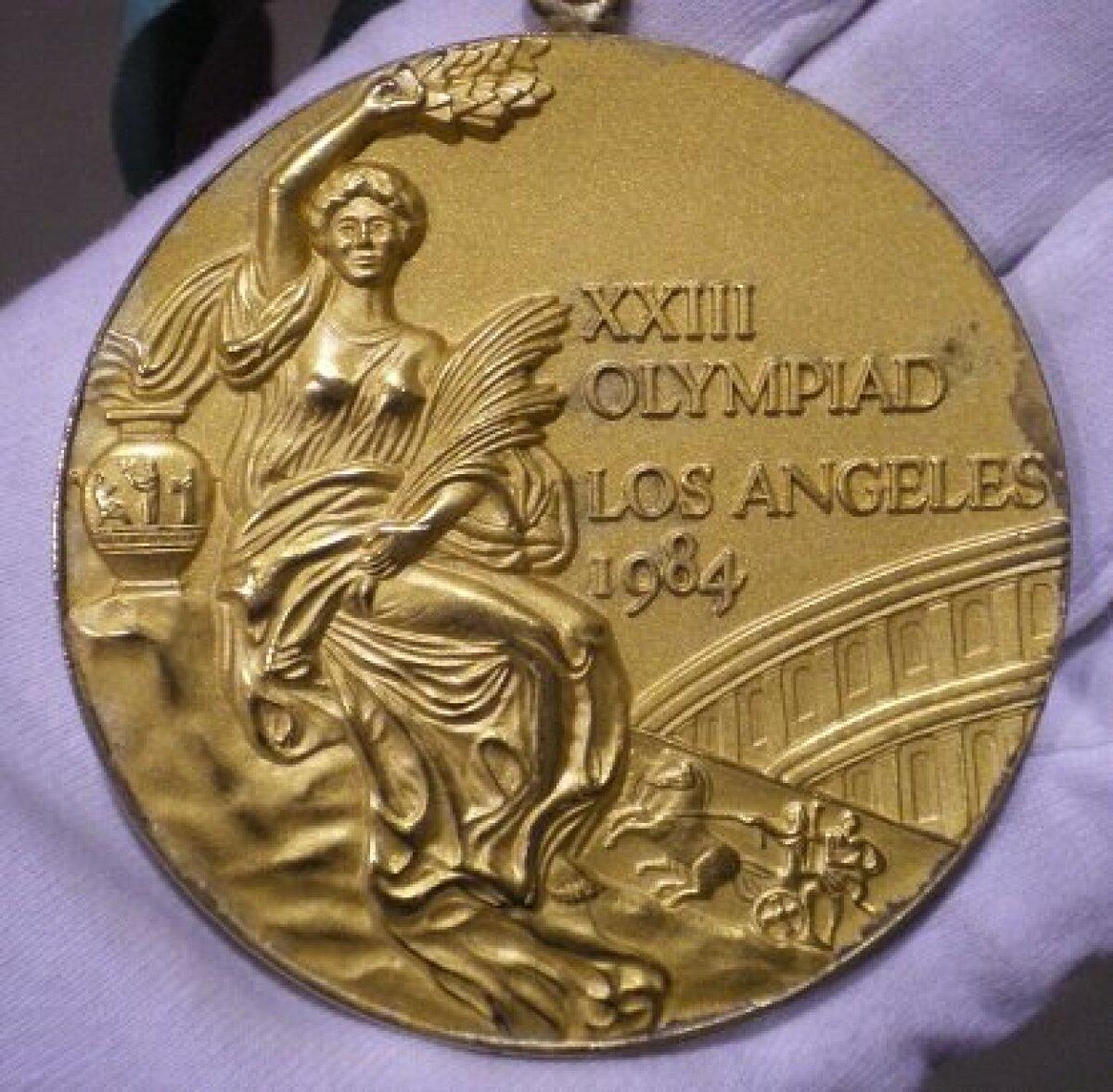 1984. aasta Los Angelese olümpia kuldmedal.