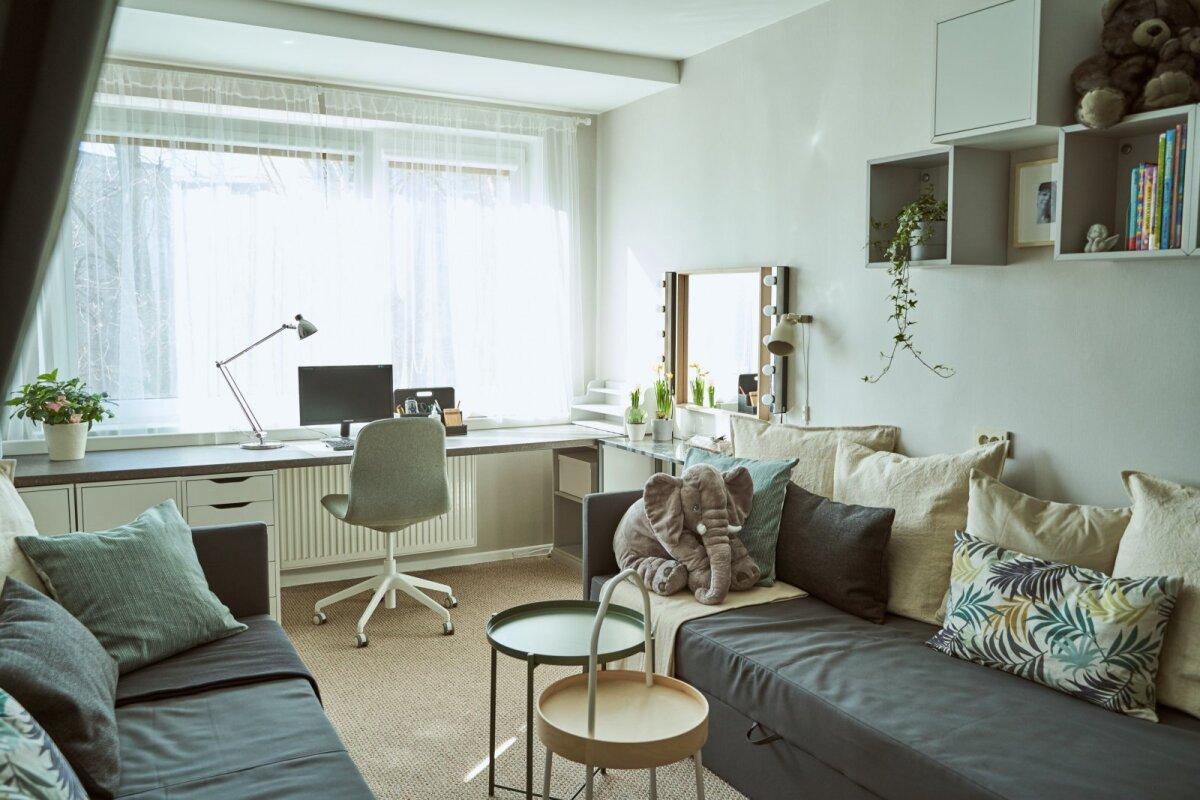 IKEA kodukontor enne ja pärast