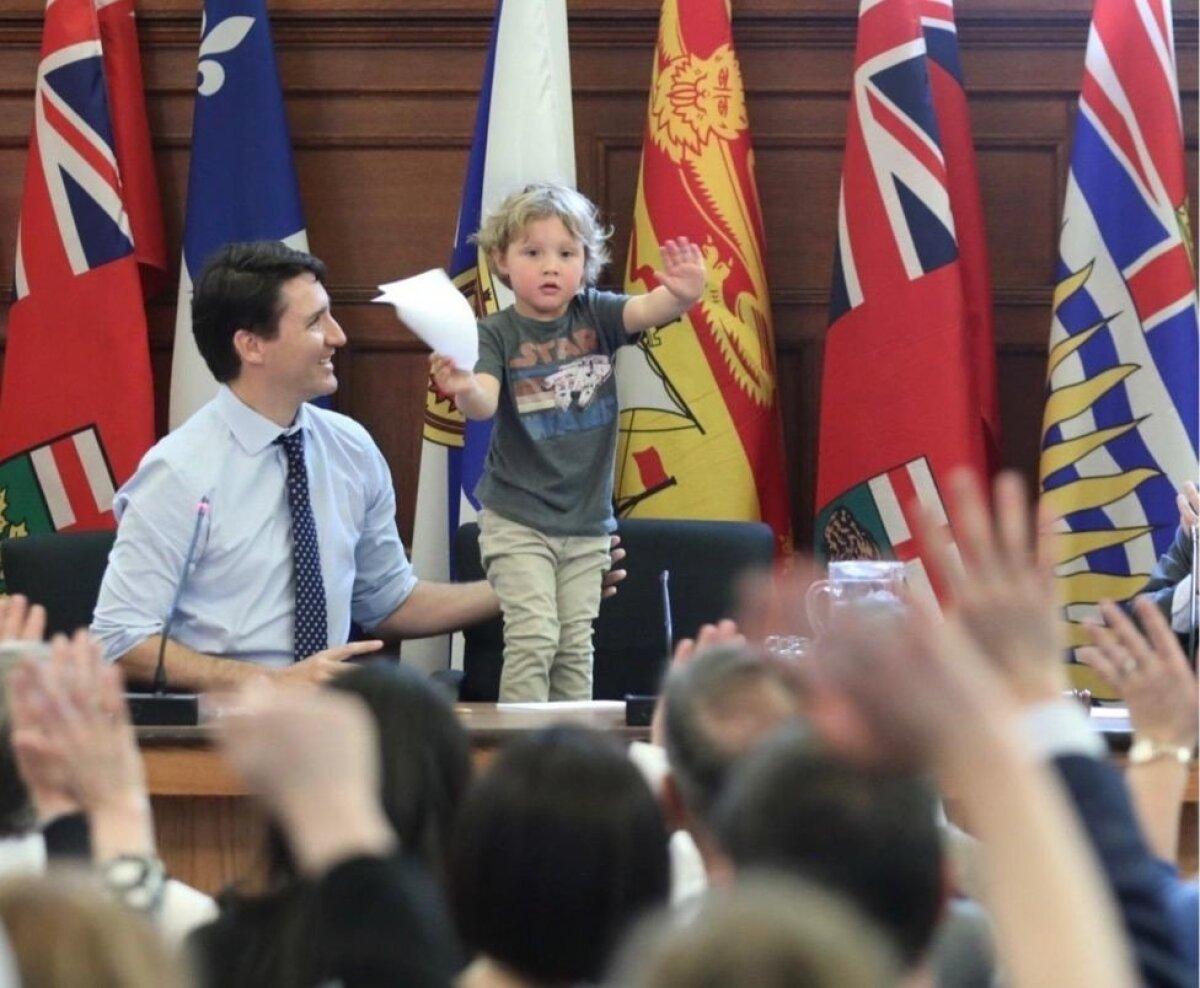 Justine Trudeau pojaga