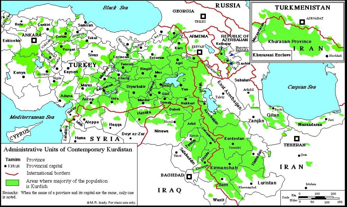 Kurdide asuala. Azerb.com