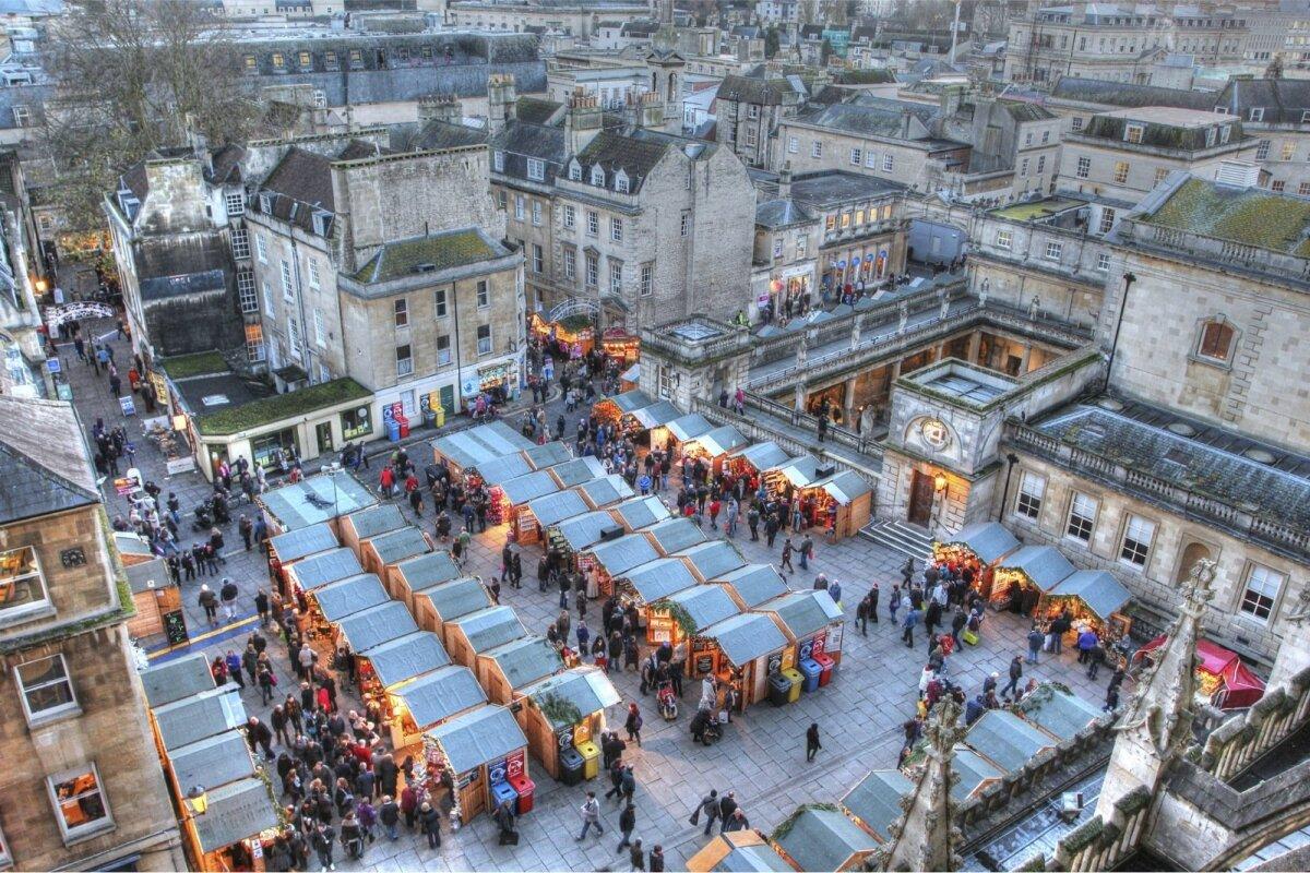 Jõuluturg Bath'is