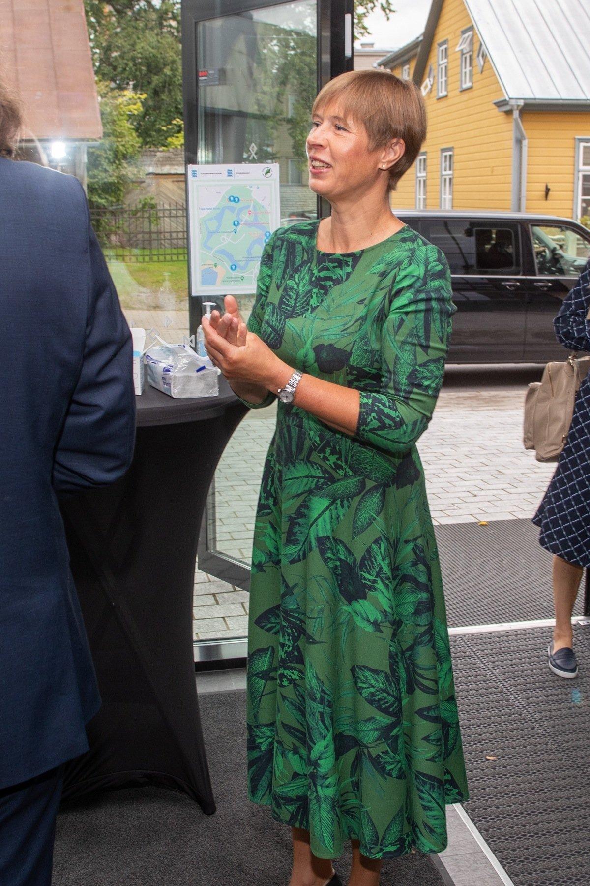 Looduskaitseseminar Kuressaares, avas Kersti Kaljulaid