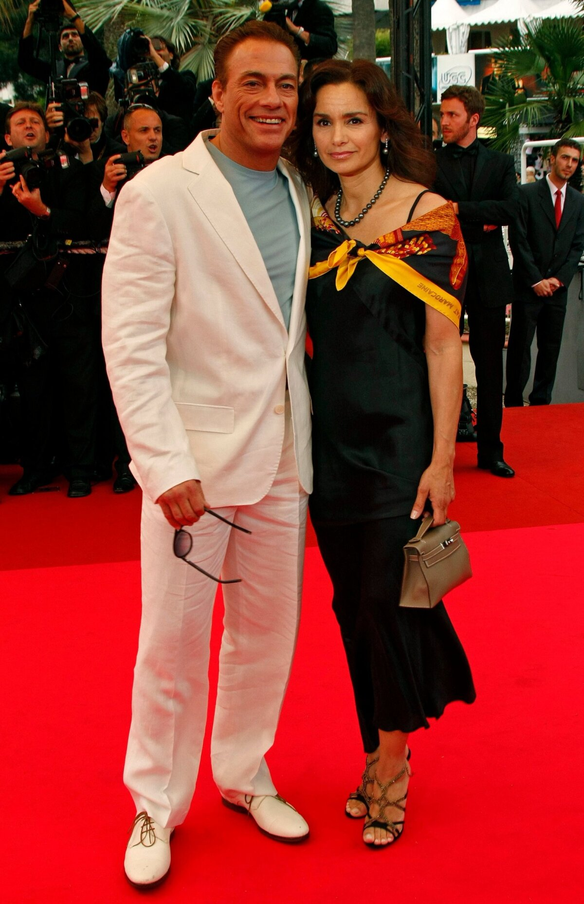 TEIST KORDA ABIELUS Jean-Claude Van Damme ja Gladys Portugues.