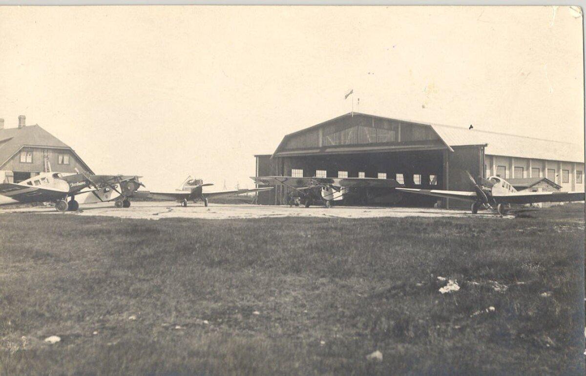Aeronaudi angaar valmis Lasnamäel 1922