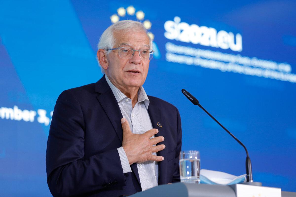 Borrell märkis, et erinevate osapoolte võimu kaasamise aspekt võib viia selleni, et Euroopa Liit võib panna Kabulis püsti ühist kohalolekut sümboliseeriva esinduse, ent seda ainult juhul, kui turvatingimused on täidetud.