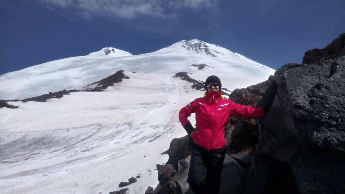 Elbruse Päästjate kaljudel. Päev enne tipurünnakut.