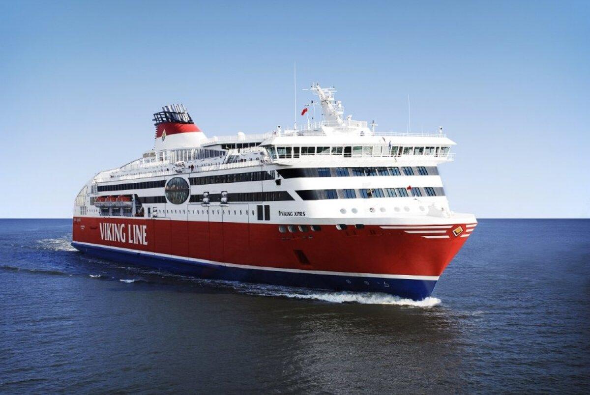 MS Viking XPRS on liinil alates 18.04.2008. 2500 reisijakohaga kiire parvlaev.