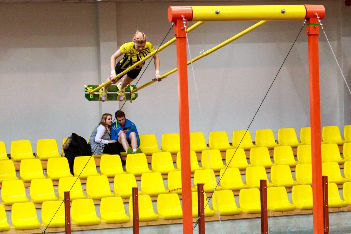 Kiiking Pärnu spordihallis