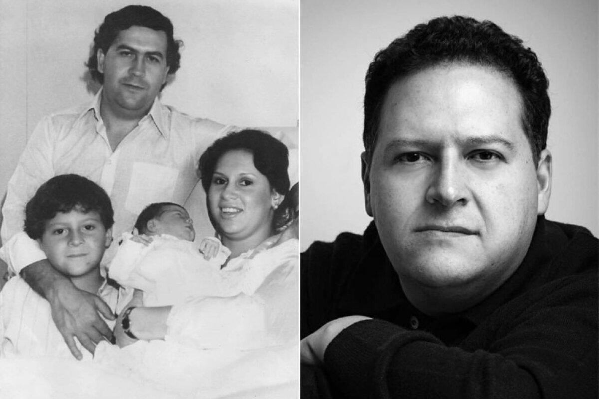 Pablo Escobar perega ja Pablo Escobari poeg