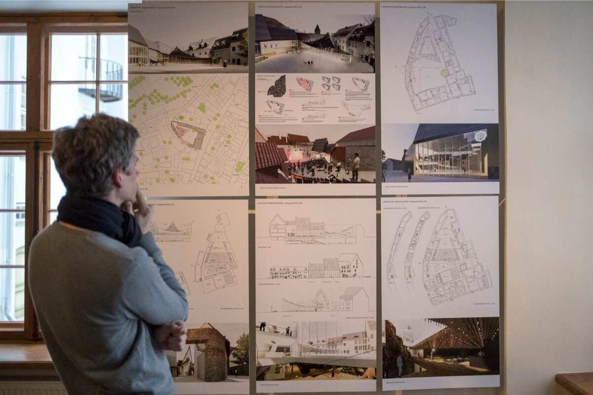 Linnateatri uue maja ja sisehoovi arhitektuurilise ideekavandi võitja väljakuulutamine