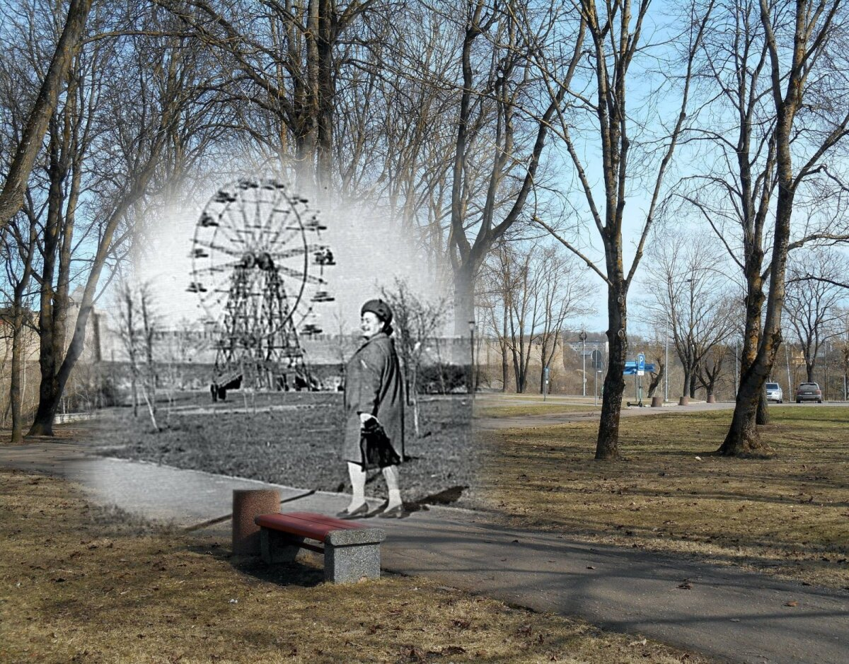 2021/1973-74, Когда то в Нарве было и такое колесо на месте сегодняшнего шведского льва