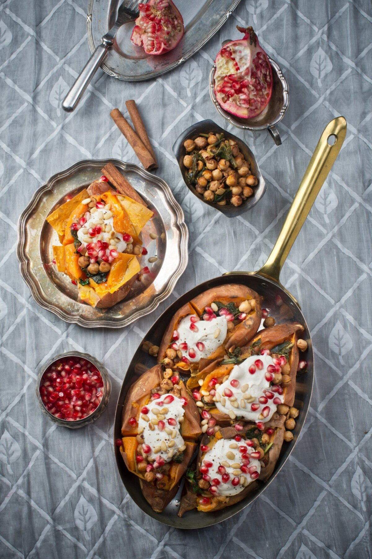 Küpsetatud maguskartulid