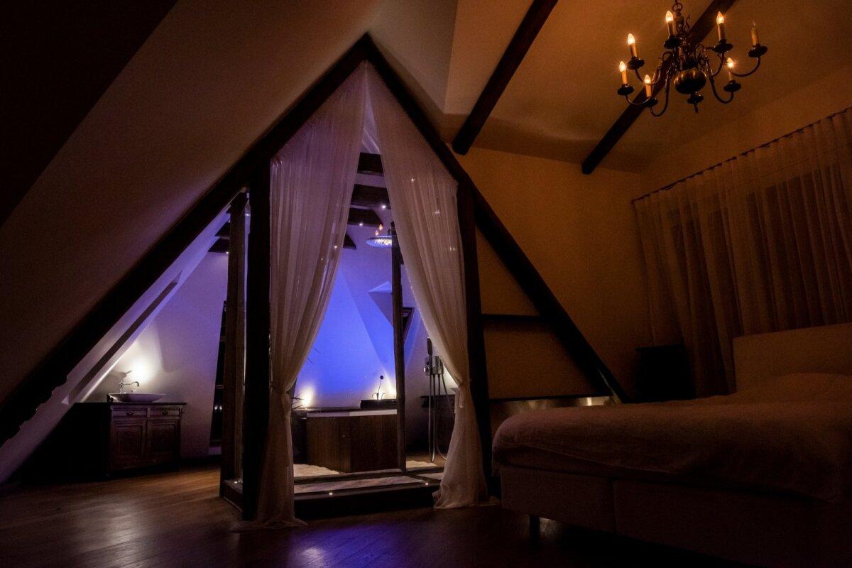 SENSUAALSELT on õhtusel ajal valgustatud ka magamistuba.