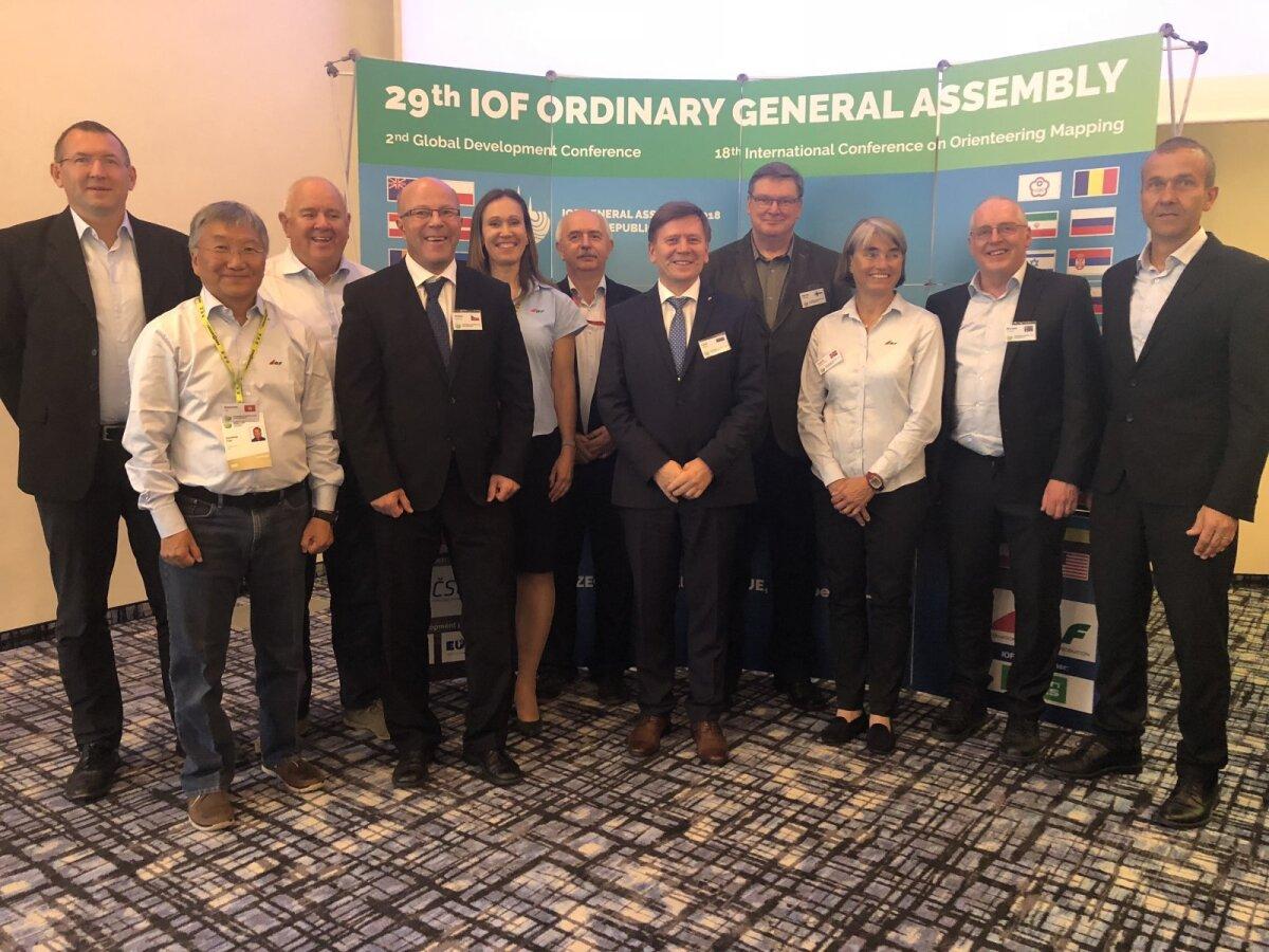 IOF Nõukogu koosseis pärast Kongressi 2018