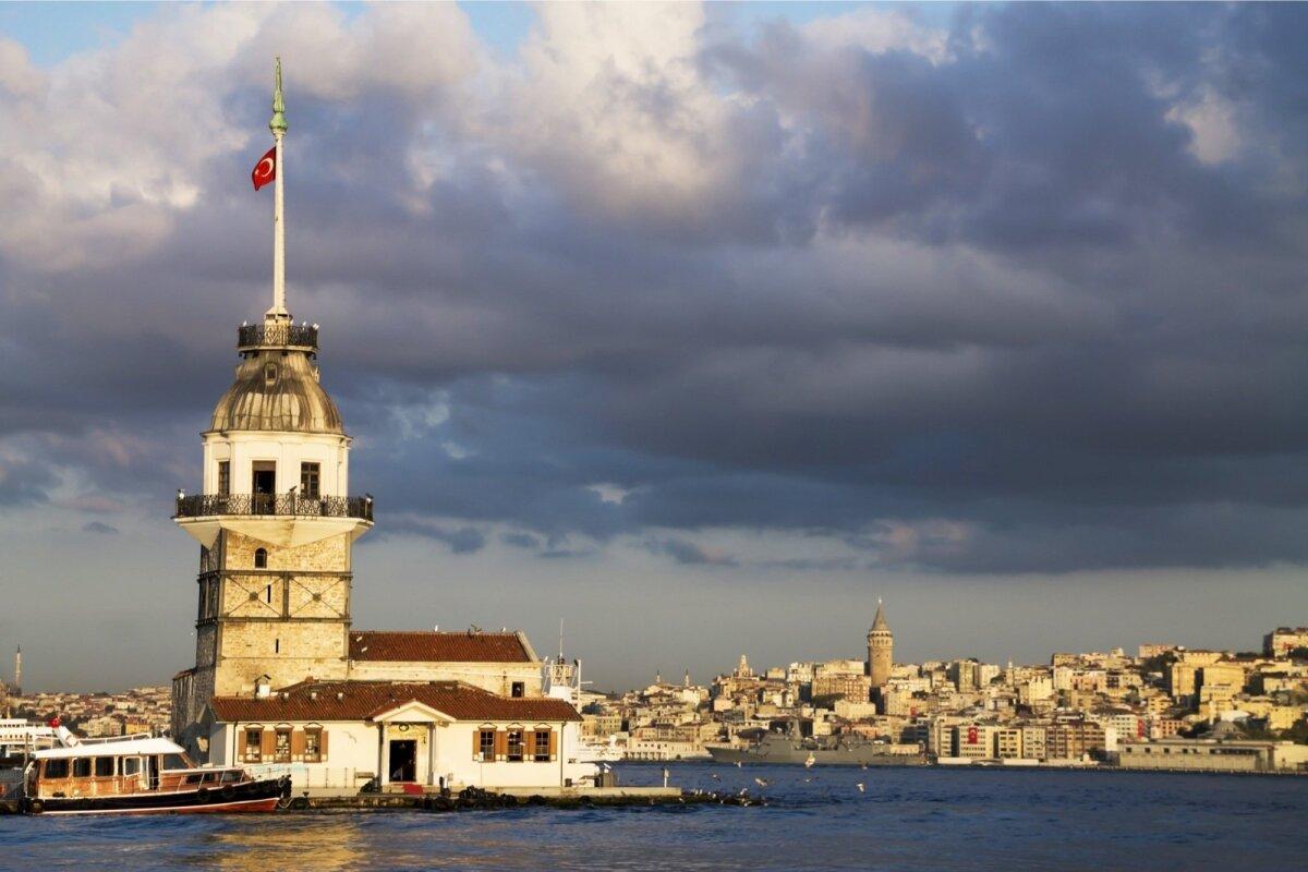 Istanbul – Kiz Kules ehk Neitsitorn.