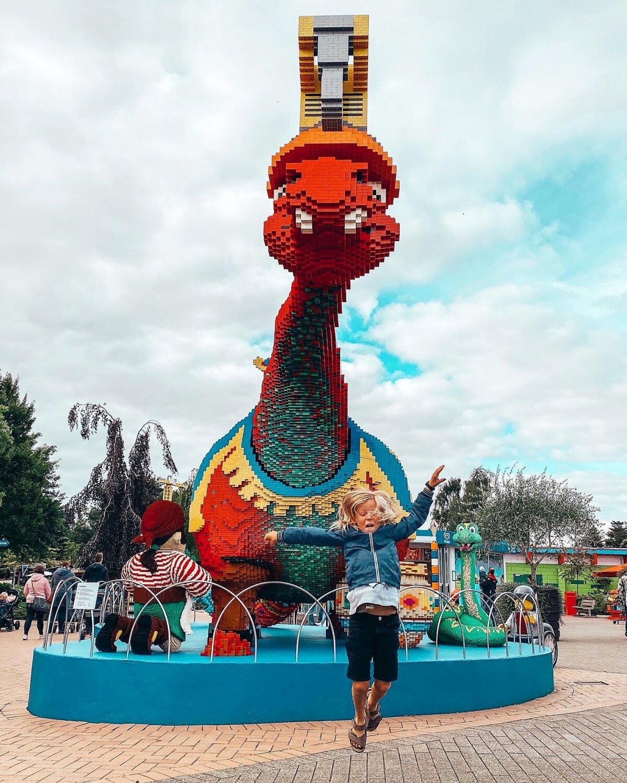 Legoland, Billund, Taani, . september 2020.