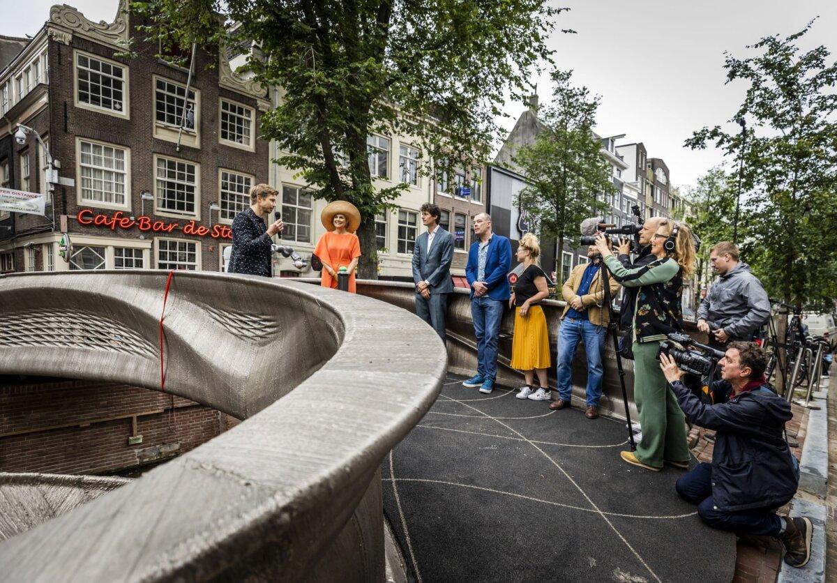 Oranži kandev Madalmaade kuninganna Máxima silla avamisel (foto: SIPA / Scanpix)