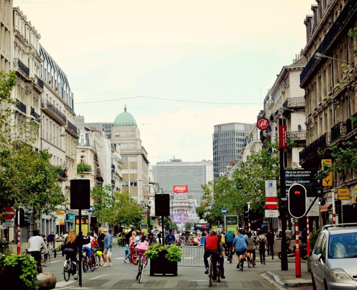 Belgia, Brüssel  - Autovaba päev