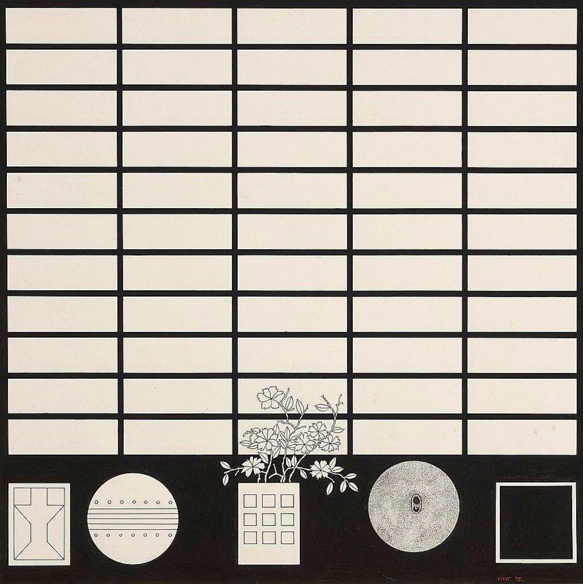 """7. Tõnis Vint, """"Jaapani tuba. Asjad"""" (1975)."""