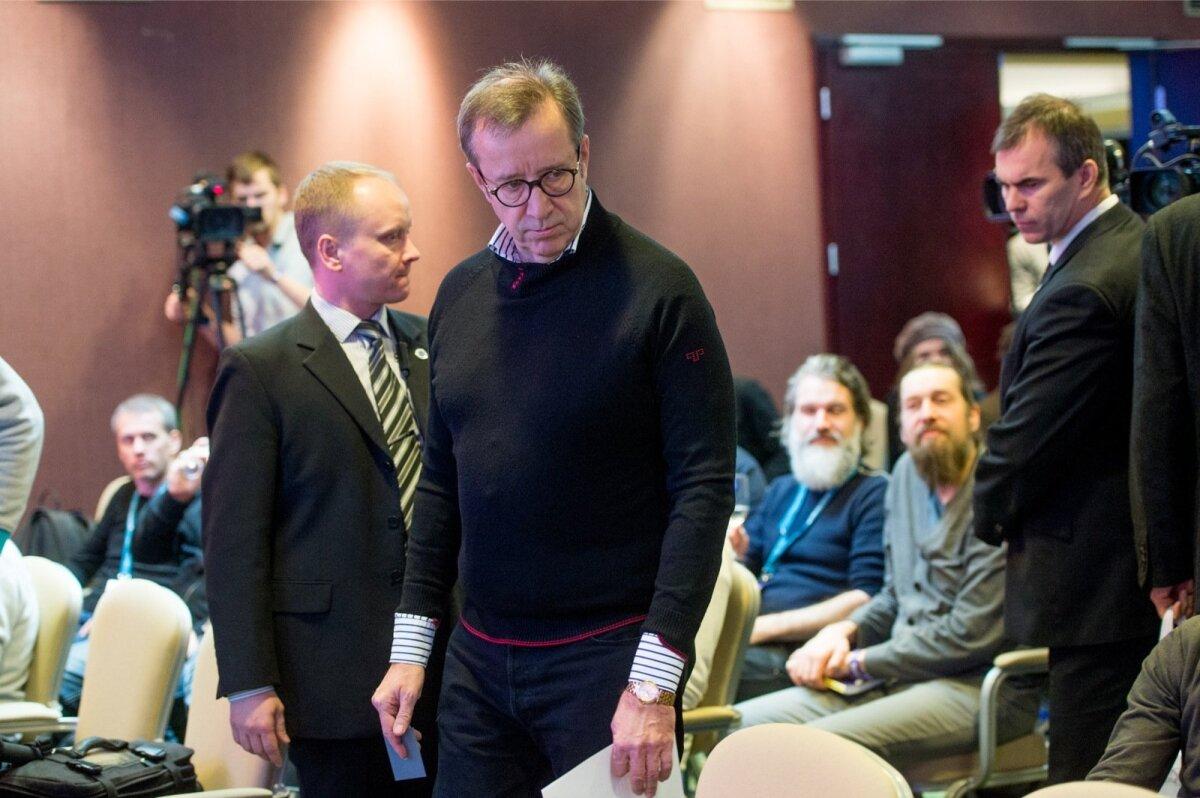 President Ilves Tallinn Music Weeki avamisel