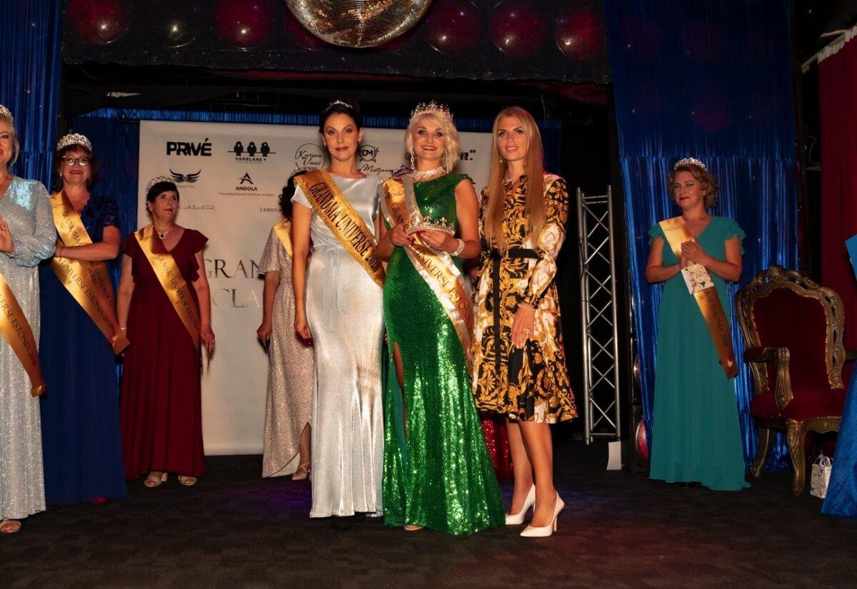 Cамой красивой бабушкой Эстонии - Grandma Universe Estonia 2021 - стала Наталья Фишер