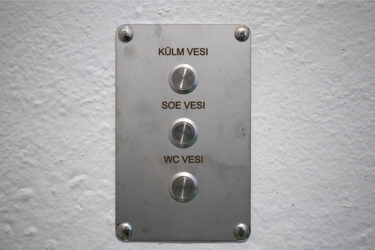 WC-s juhitakse vett nuppudega