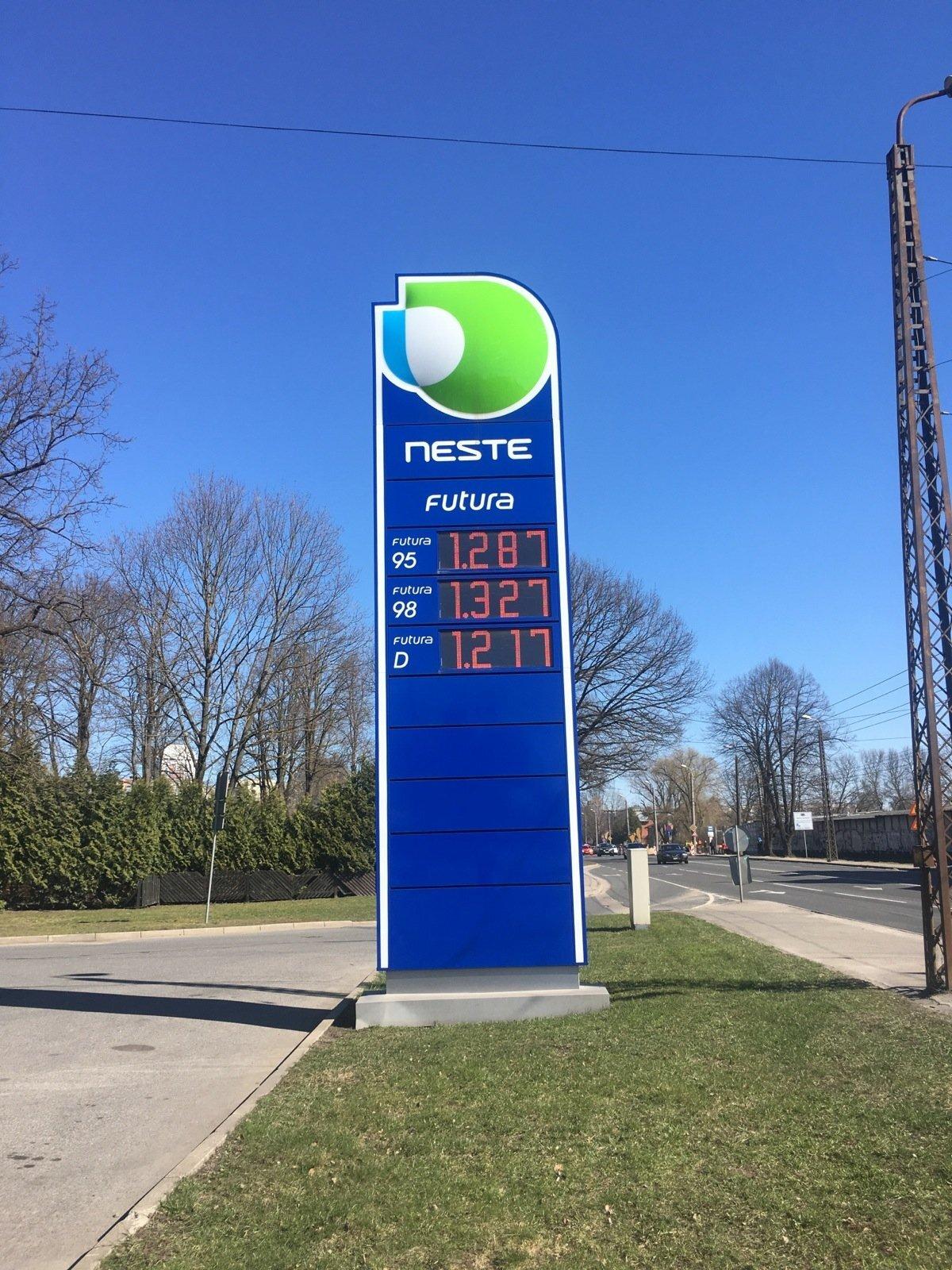 Kütusehinnad Riias