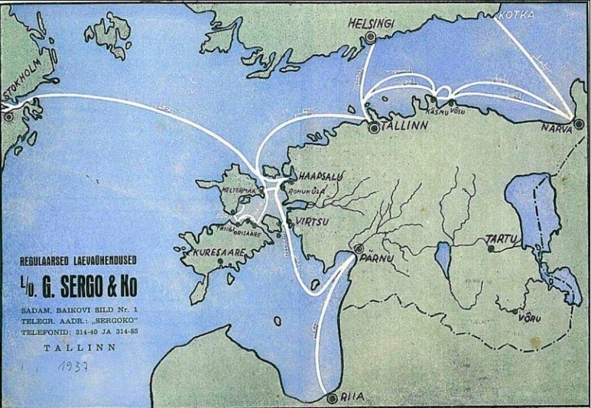 G. Sergo & Ko regulaarsed laevaühendused