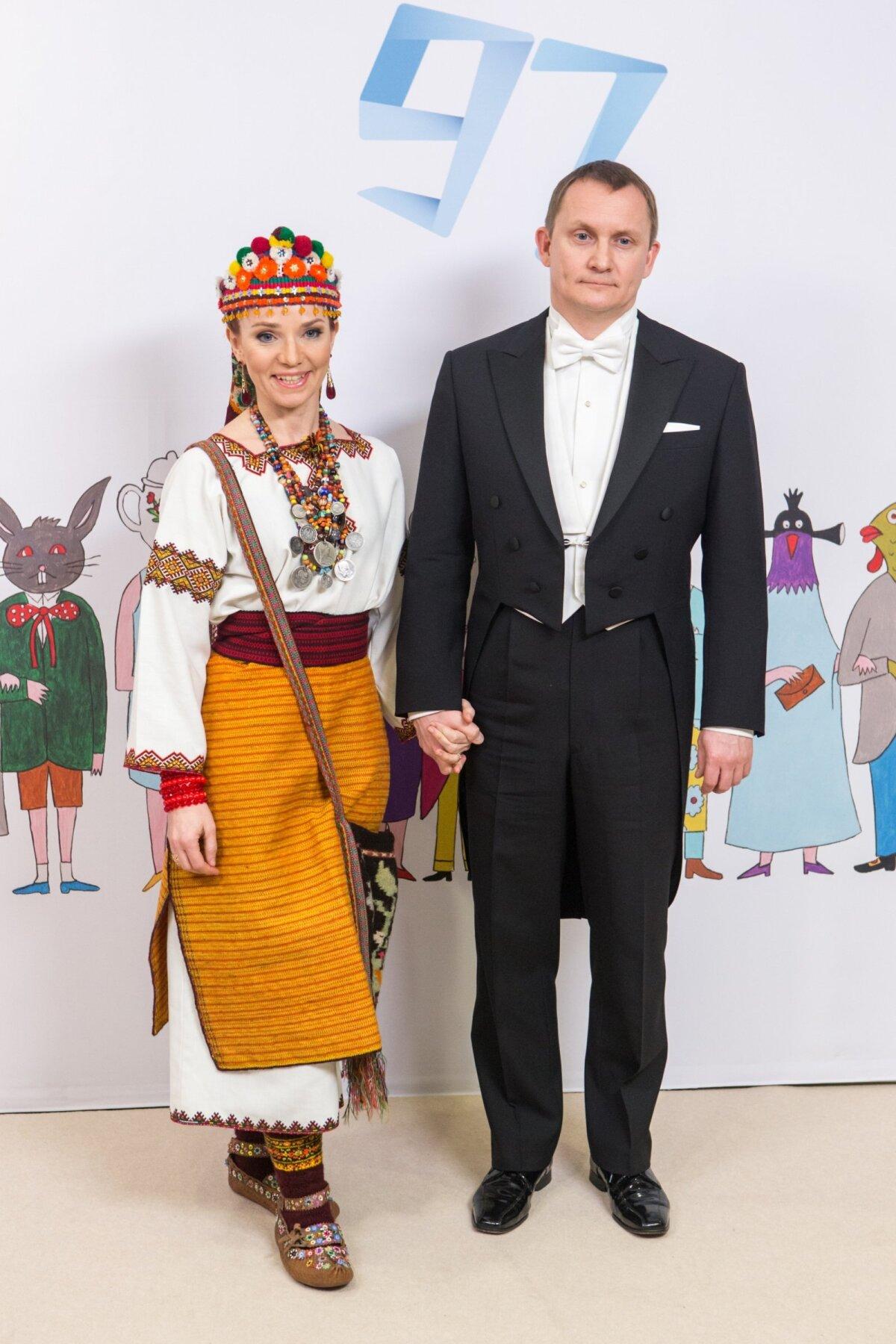 Välisminister Keit Pentus-Rosimannus ja Rain Rosimannus