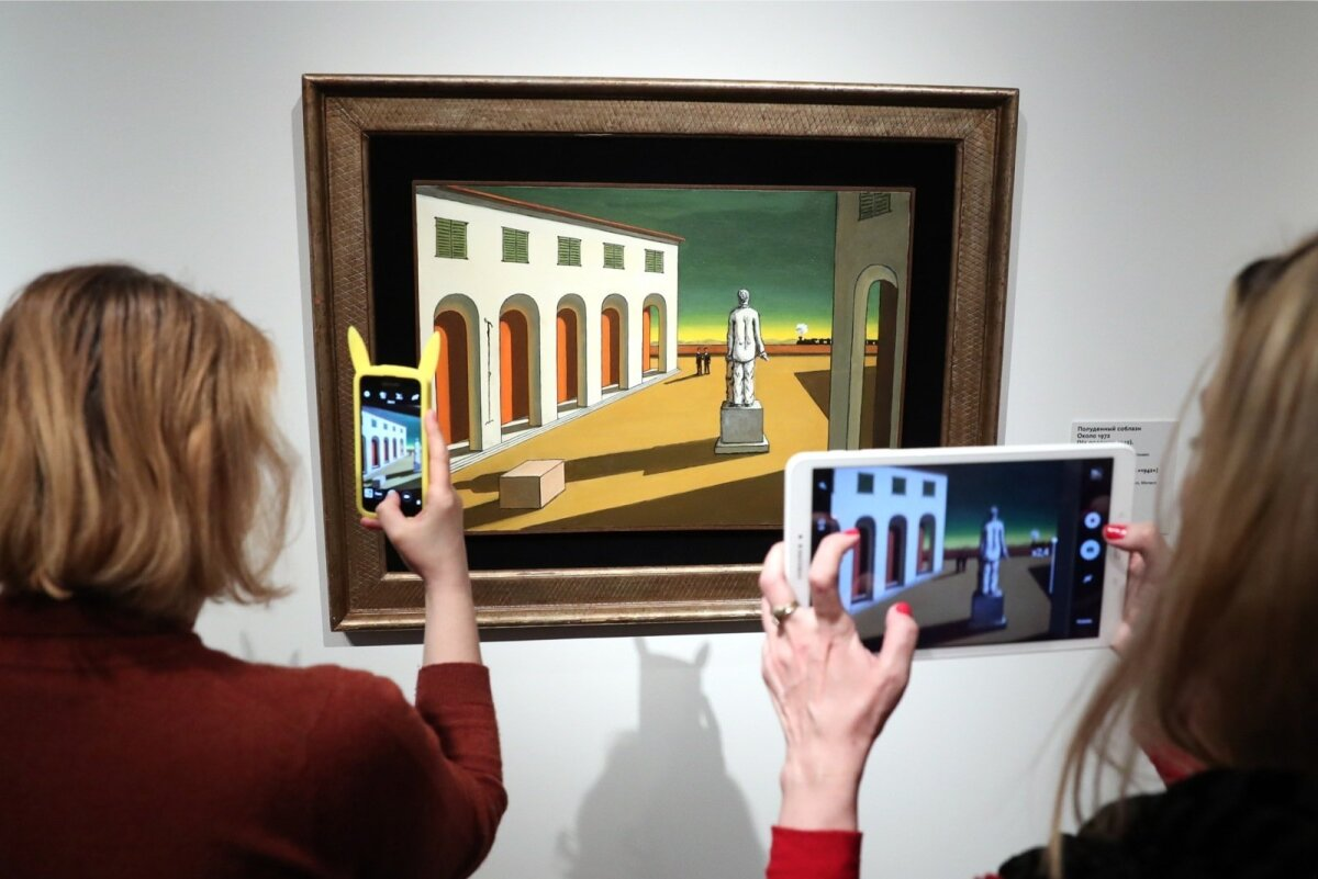 Giorgio de Chirico. Metaphysical Insights exhibition opens in Moscow