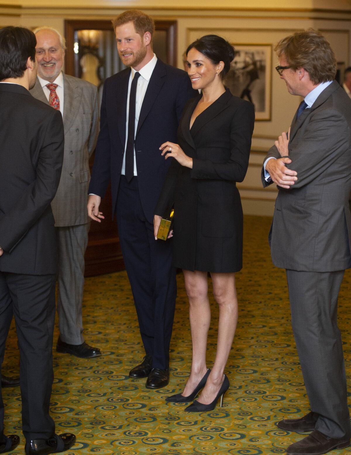 "Suusexi hertsog ja hertsoginna ""Hamiltoni"" esitlusel"