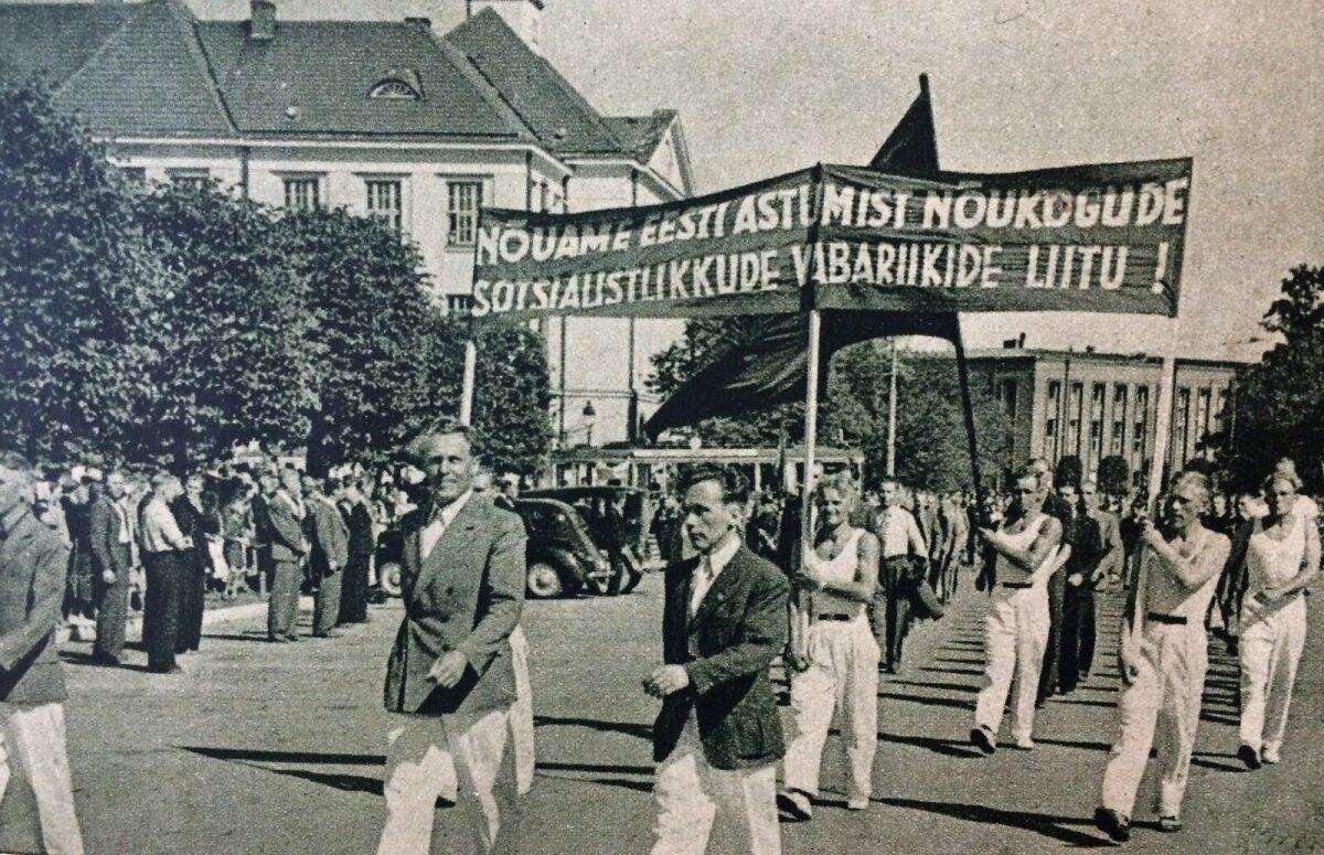 Töölisrongkäik Tallinnas