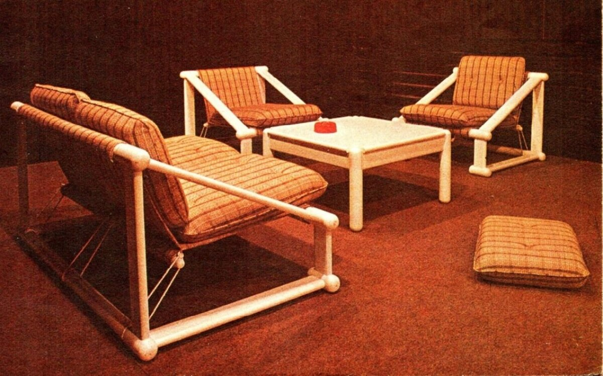 Enno Holmi 1970. aastate keskpaigas disainitud puhkemööbel Otto.