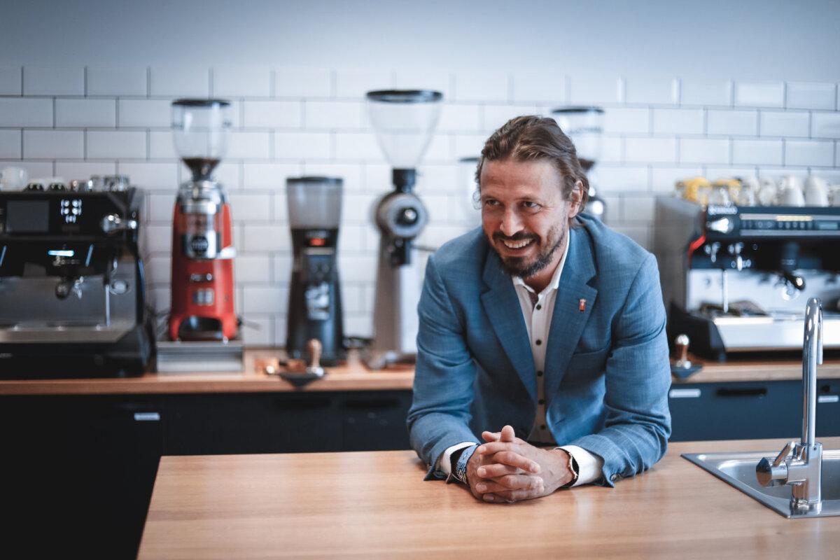 Исполнительный директор Coffee People Аннар Алас