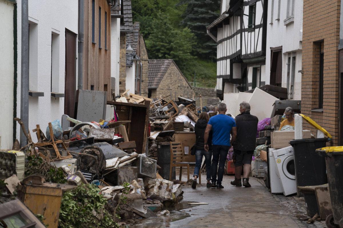 Tulevavete kahjustused Bad Münstereifelis.