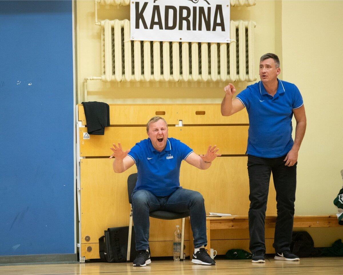 Aivar Kuusmaa, kes mänginud Kreeka superklubis Ateena Panathinaikos, suudab end emotsionaalselt üles kütta ka Eesti esiliiga satsi Kadrina Karusid juhendades.