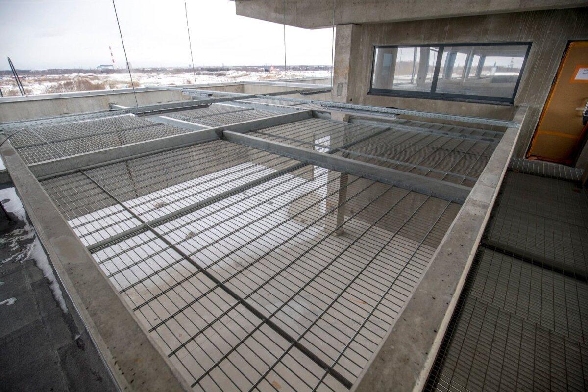 Jalutusboksid on kambrikompleksi katusel