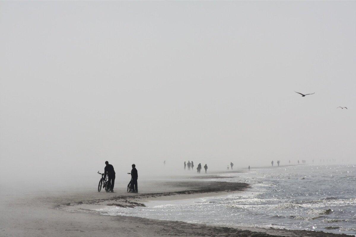 Läti karged rannad