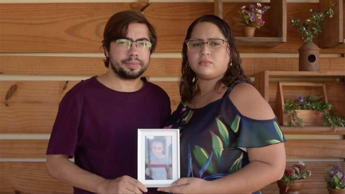 Потерявшие ребенка Джессика и Исраэль рассказывают свою историю, чтобы спасти других детей