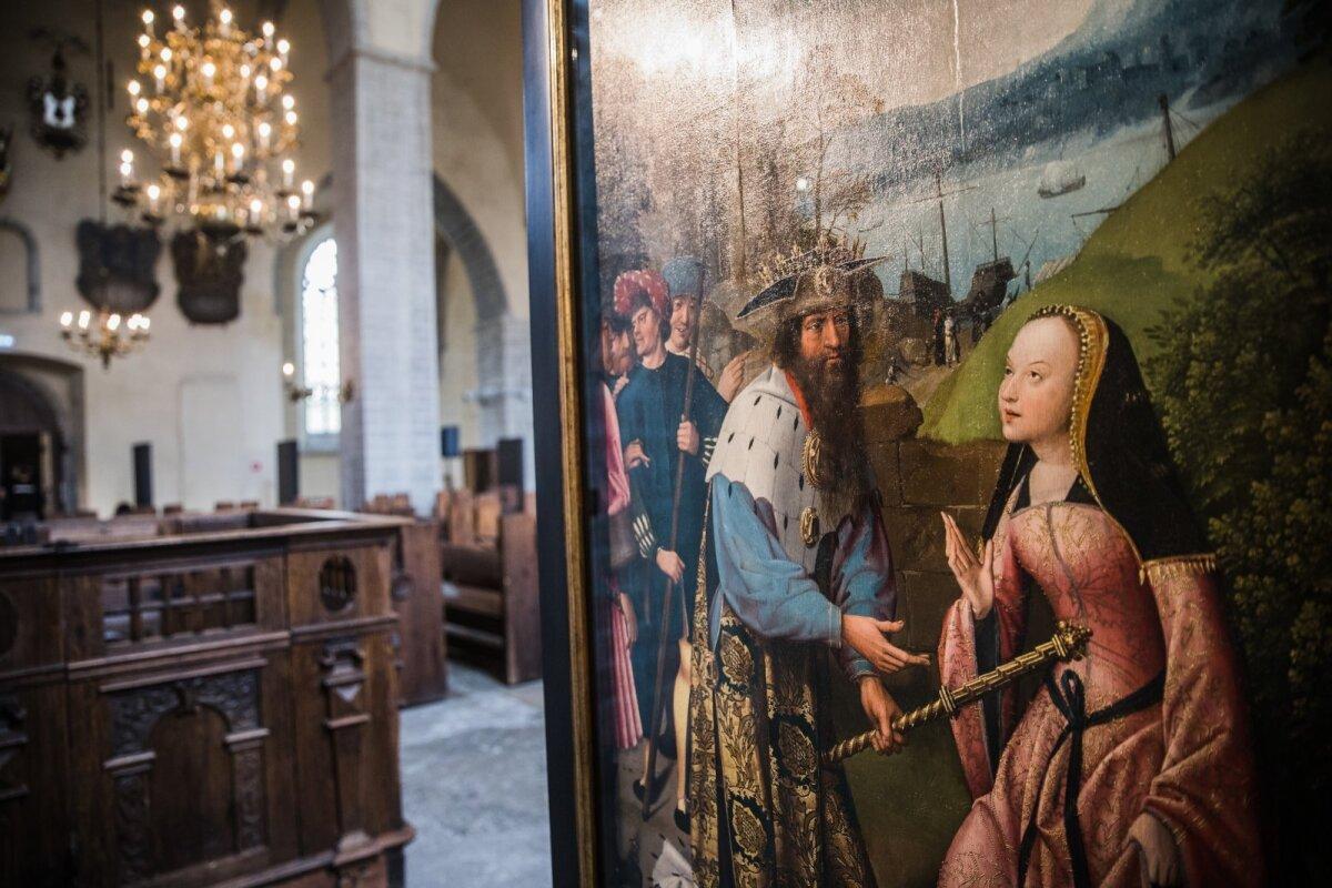 """Näitus Niguliste kirikus """"Meeletu Dymphna järele"""""""