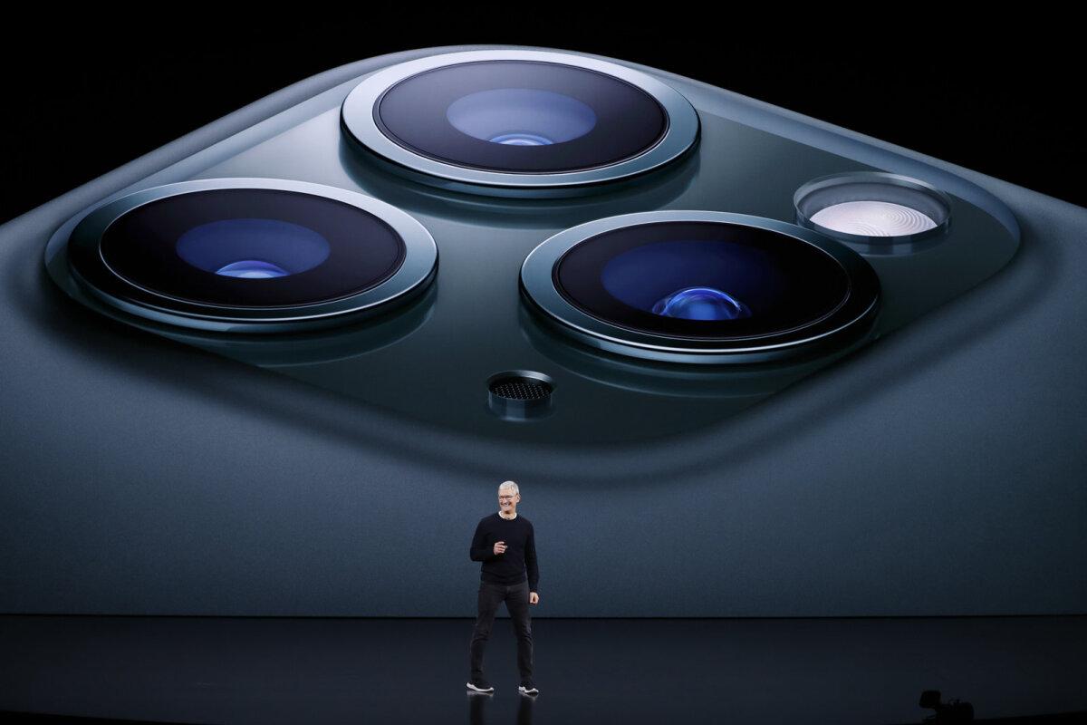 iPhone 11 Pro tagaküljel ilutseb koguni kolm kaamerat