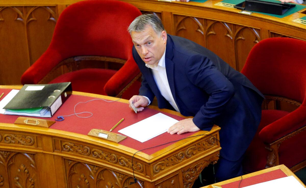 Viktor Orbán teisipäevasel parlamendiistungil
