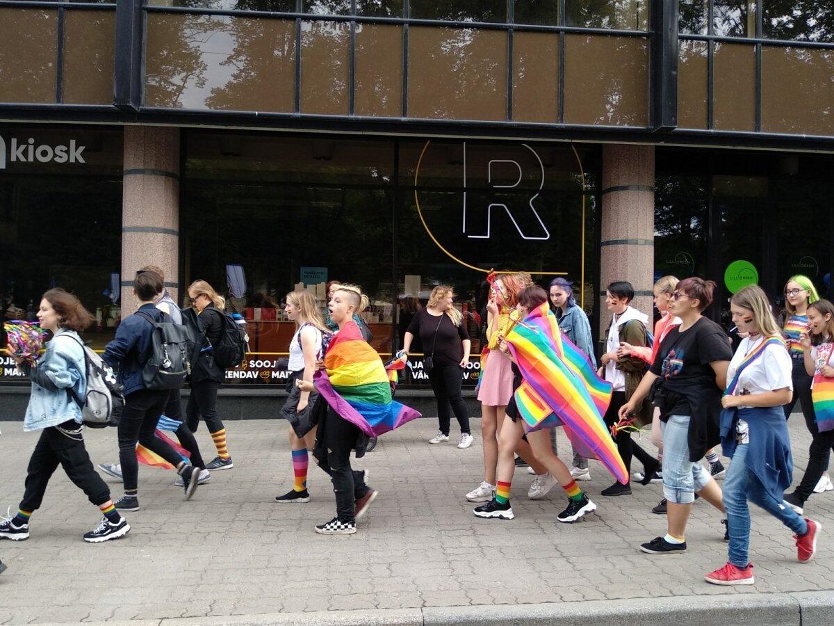 Eesti LGBT+ Ühingu liikmed ja toetajad