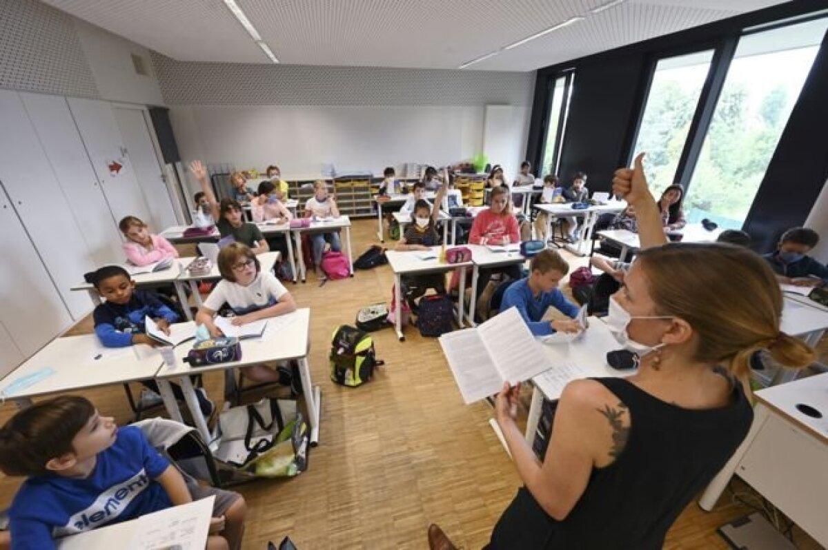 Урок в школе Страсбурга